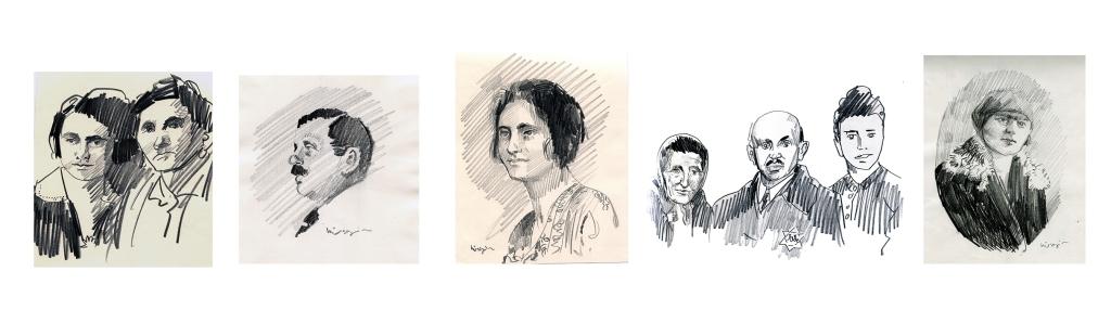 portreler kursunkalem uzun auschwitz