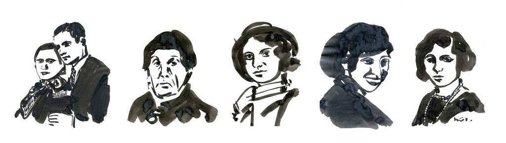 portreler uzun auschwitz