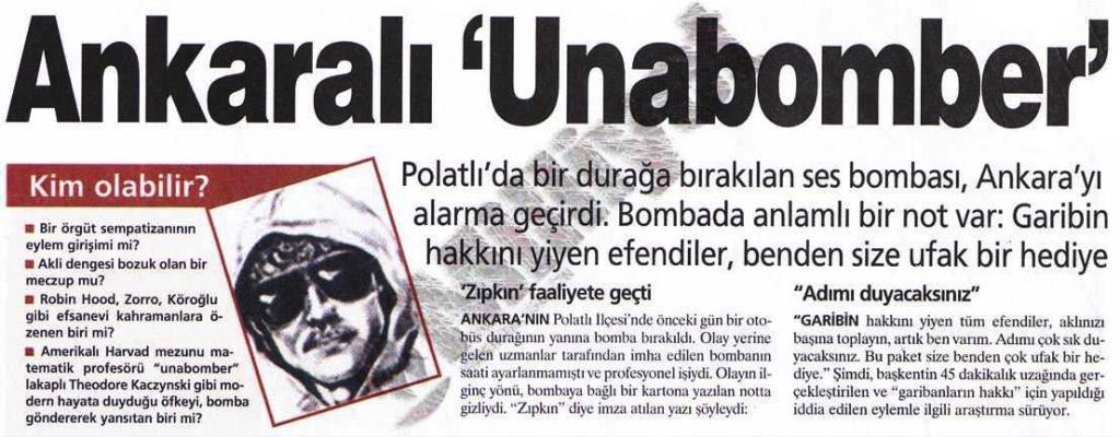 Ankaralı Unabomber